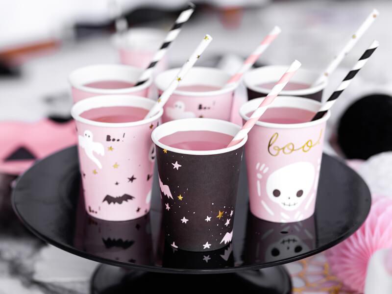 Verre gobelet halloween pink